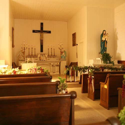 inside santa rosa chapel